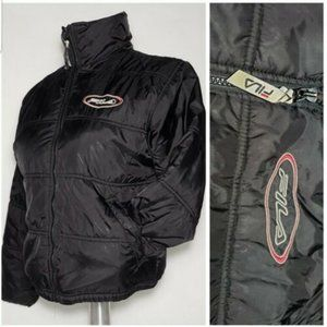 Vintage FILA Womens Quilted Puffer Jacket